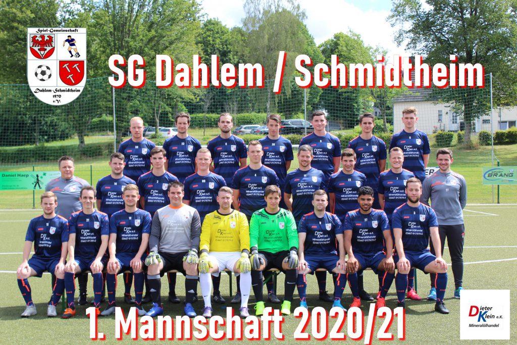 Mannschaftsfoto - Dieter Klein